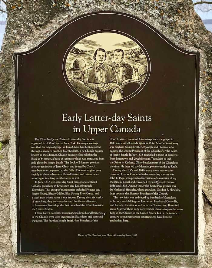 Early Latter-Day Saints in Canada