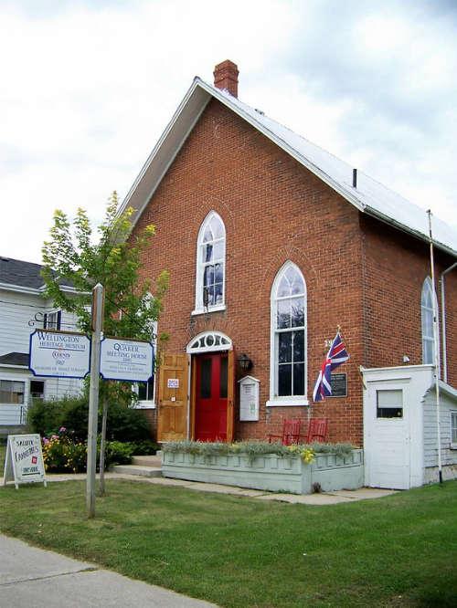 Quaker Meeting House (now Wellington Heritage Museum)