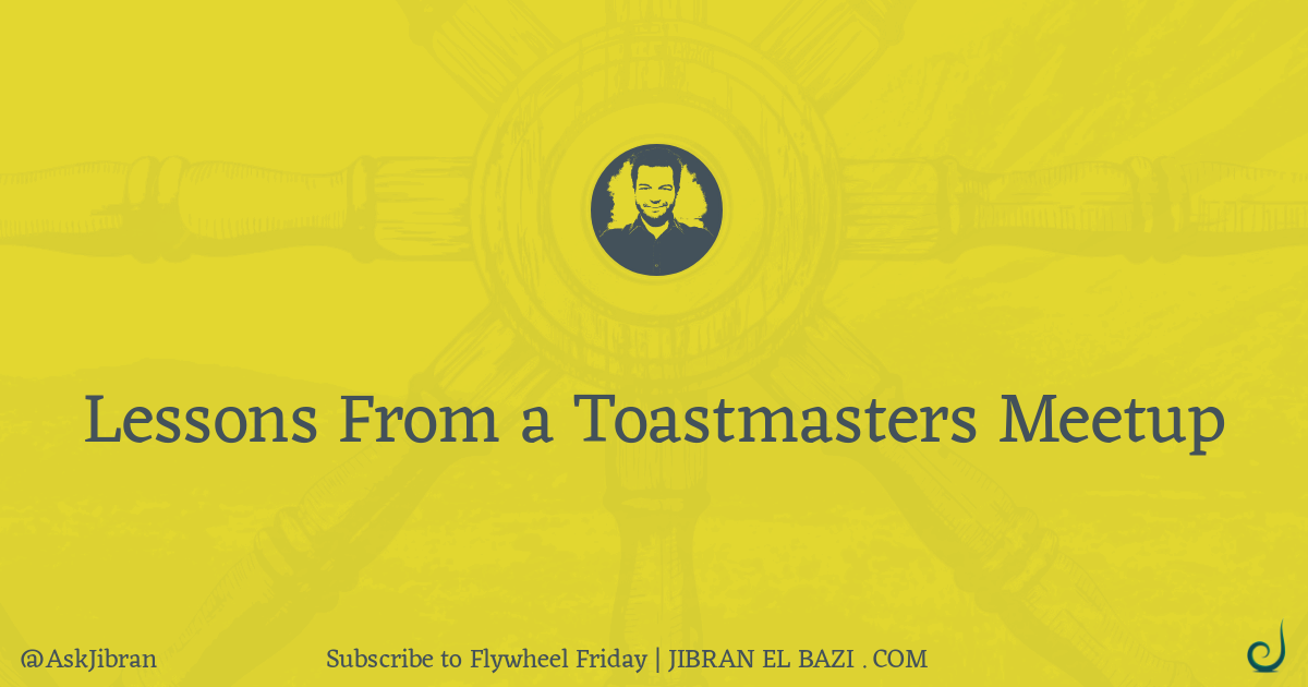 28 Public speaking tips from Toastmasters