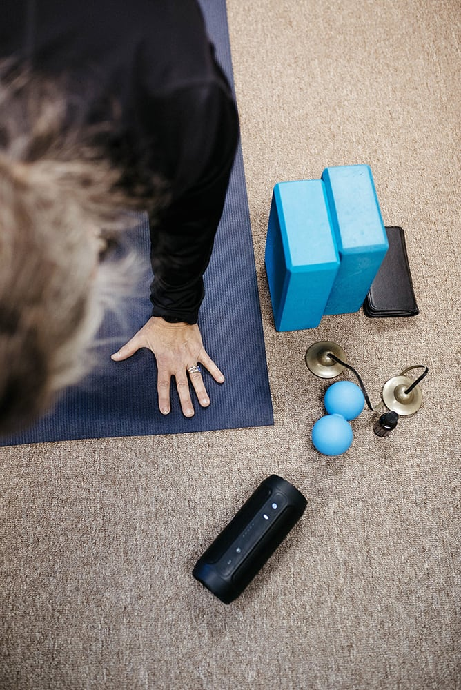 Yoga therapy tools