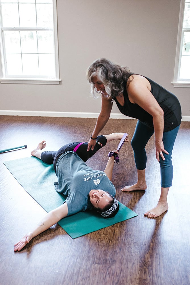 Yoga therapy helps you reach for healing