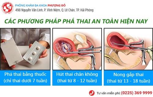 Thai bao nhiêu tuần thì phá được