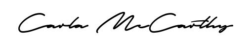 Carla McCarthy Signature for Cougar Vintage