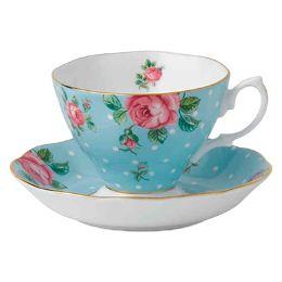 Flowery Teacup for decor catalog