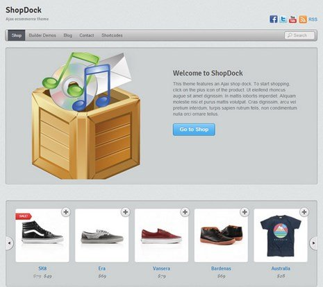 Themify ShopDock WooCommerce Themes