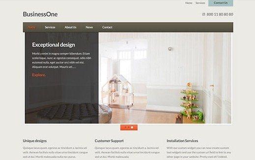 CSS Igniter BusinessOne WordPress Theme