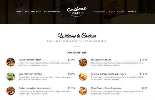 CSS Igniter Carbone WordPress Theme