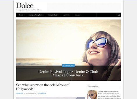 CSS Igniter Dolce WordPress Theme