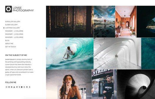 CSS Igniter Lense WordPress Theme