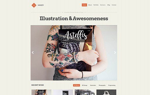 CSS Igniter Mozzy WordPress Theme