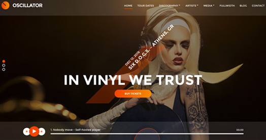 CSS Igniter Oscillator WordPress Theme
