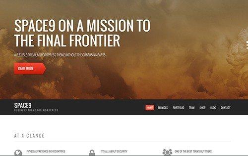 CSS Igniter Space9 WordPress Theme