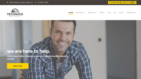 CSS Igniter Technico WordPress Theme