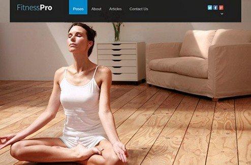 CyberChimps Fitness Pro WordPress Theme