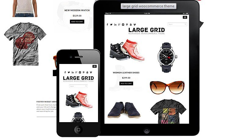 Dessign Large Grid WooCommerce Themes