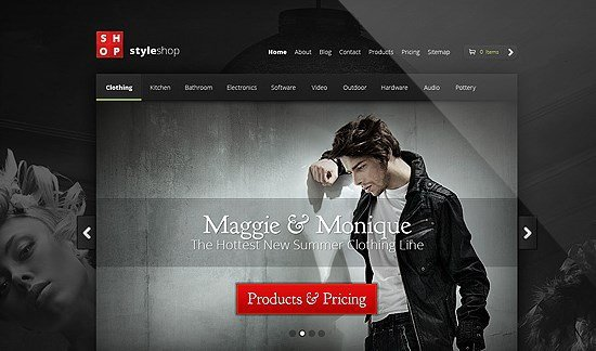 Elegant Themes StyleShop WooCommerce Themes