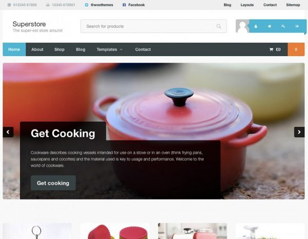 WooThemes Superstore WooCommerce Themes