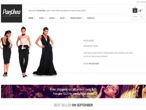 YITH Panthea Premium WooCommerce Themes