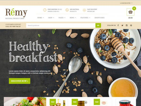 YITH Remy Premium WooCommerce Themes