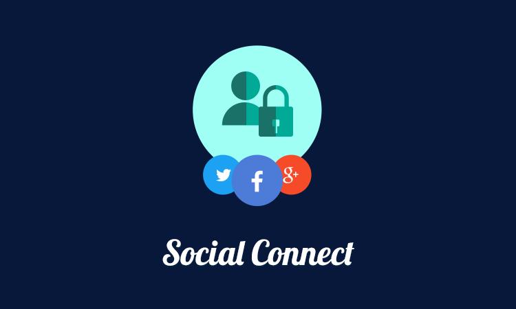User Registration – Social Connect