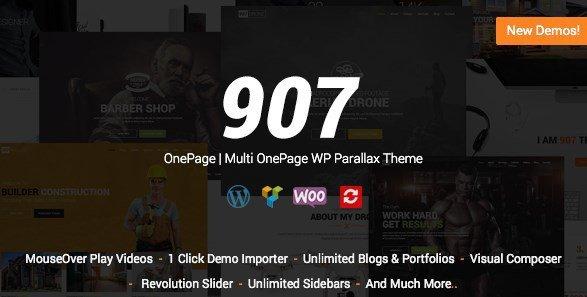 907 – Responsive Multi-Purpose WordPress Theme