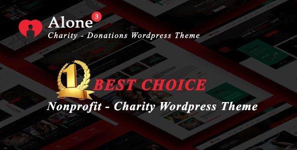 Alone – Charity Multipurpose Non-profit WordPress