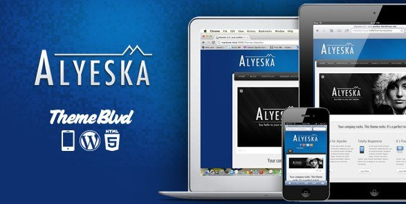 Alyeska – Responsive WordPress Theme