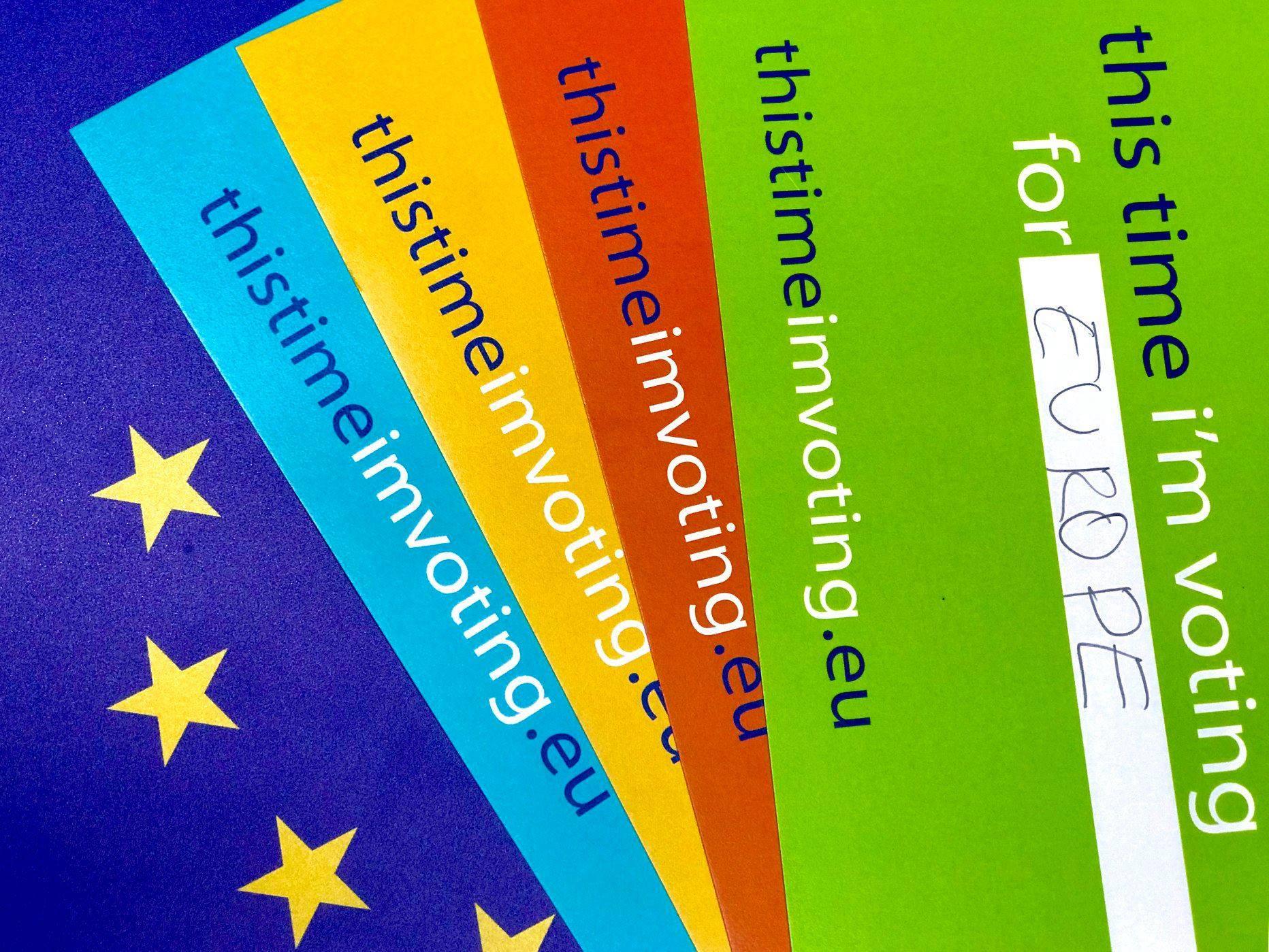 European Elections offline materials