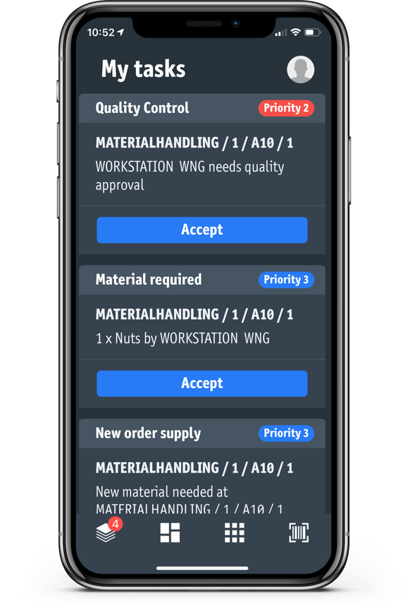 performance app or manufacturing