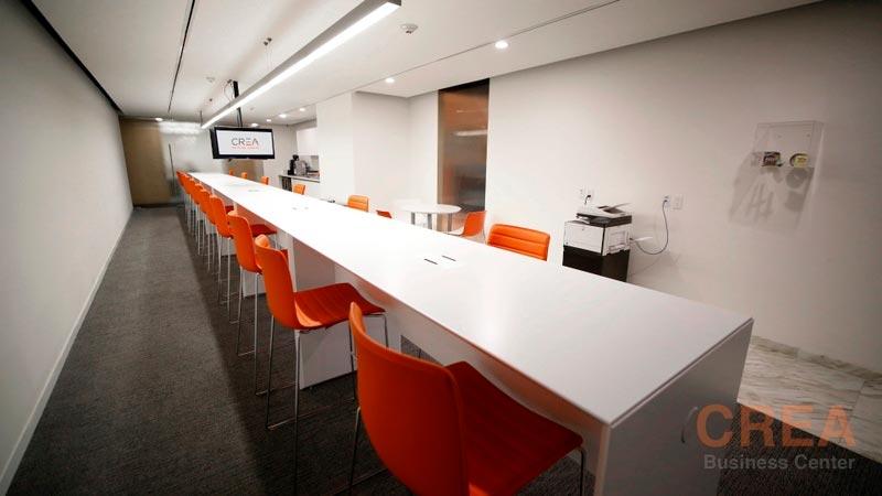 Contratación de oficinas equipadas