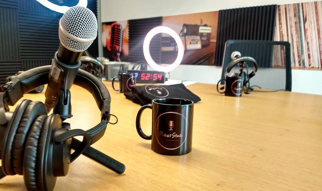 Estudio de Podcast en Polanco by CREA