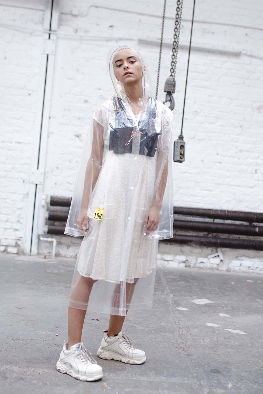 High fkn society rain coat