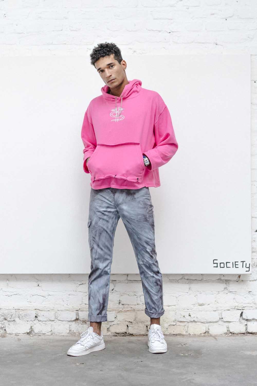 24/H WACH hood pink