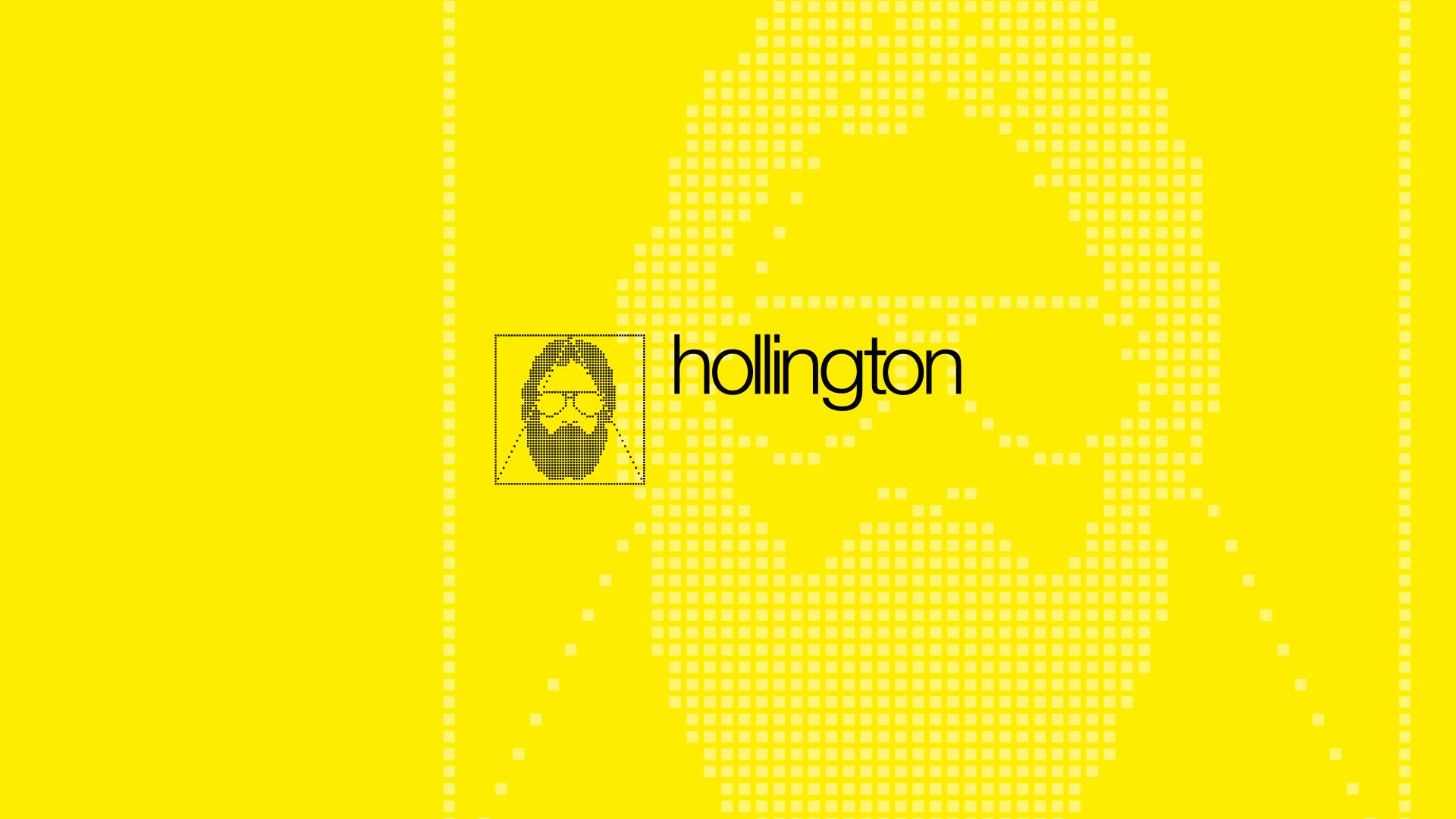 Das Hollington Logo.