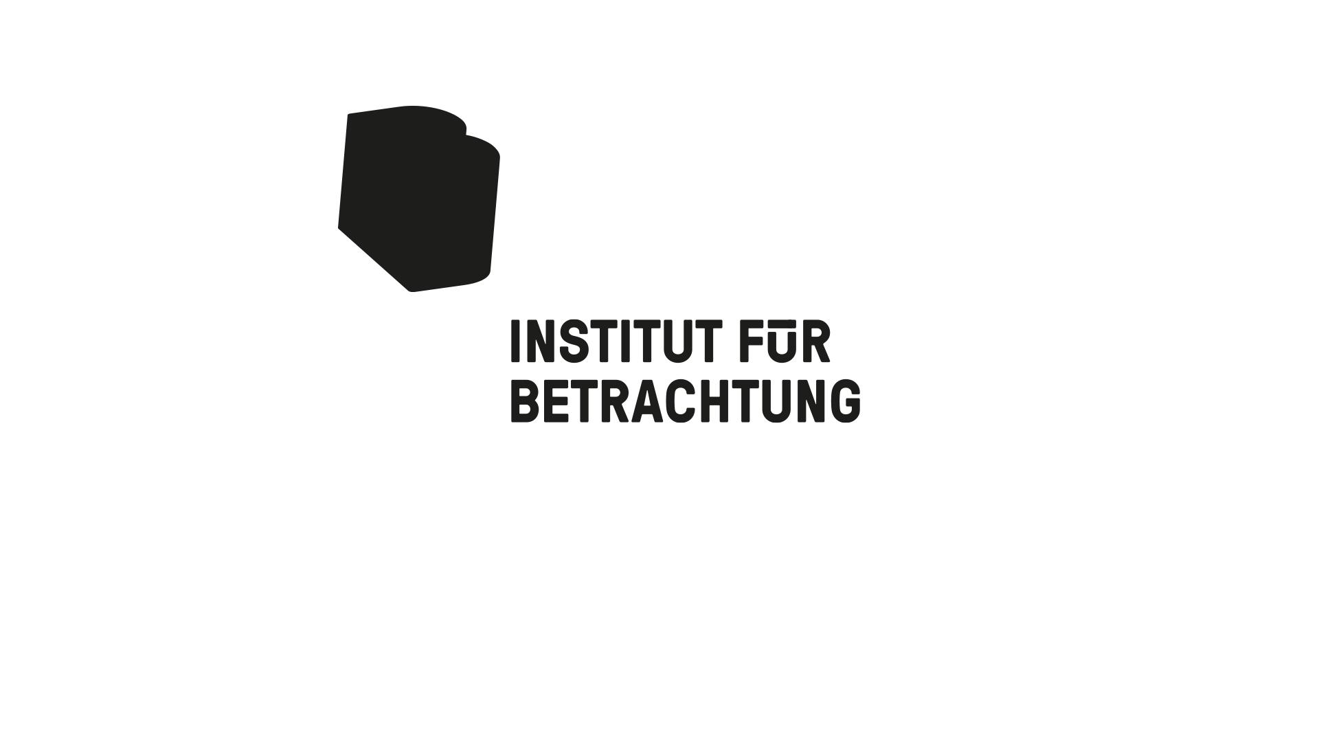 Logo des Instituts für Betrachtung.