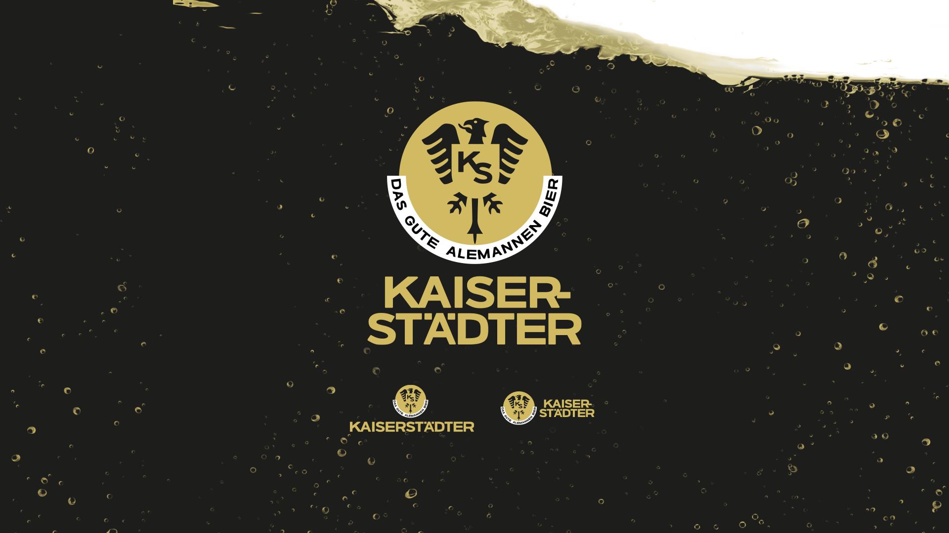 Verschiedene Varianten des Kaiserstädter Logos.