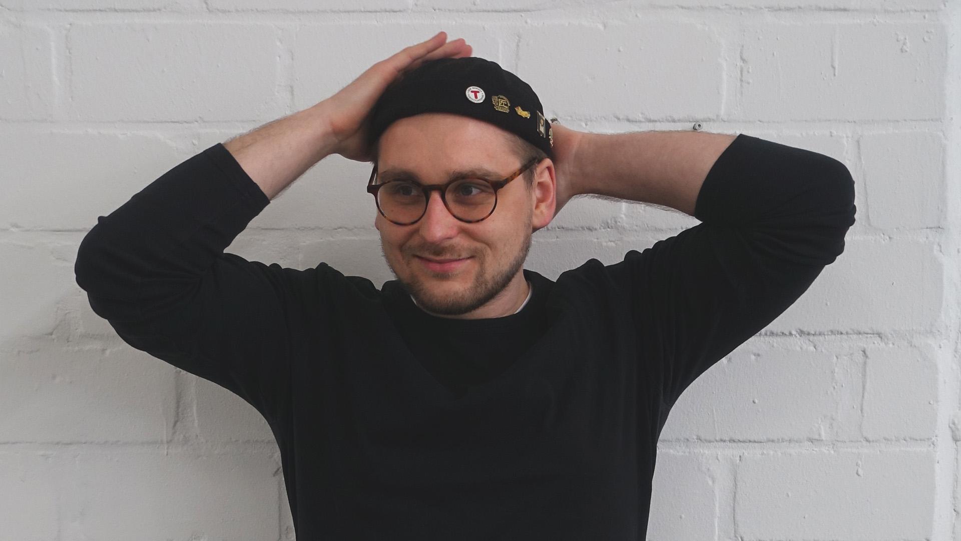 Portraitfoto von Andreas Gaida, Freelancer, Grafikdesigner, Art Director und Webdesigner.