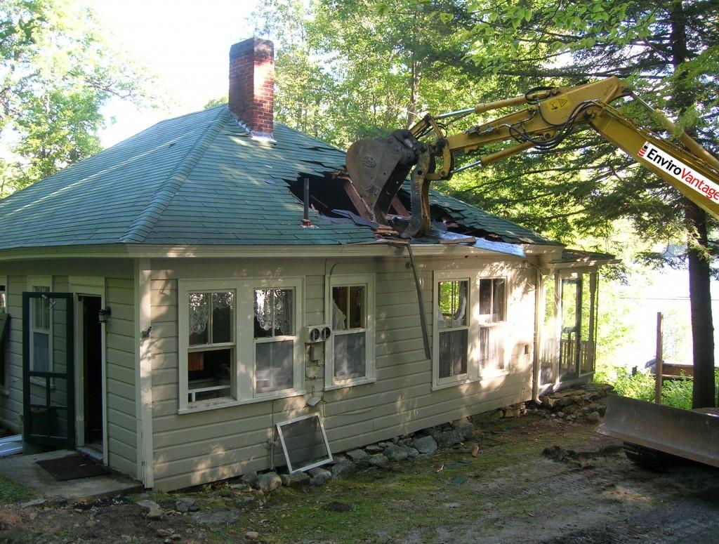 home renovation vs. demolition