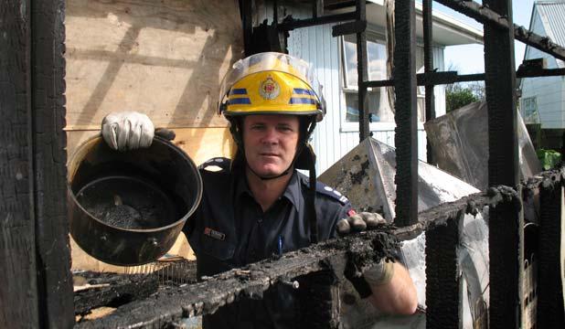 Tony Buckwell Fire Service