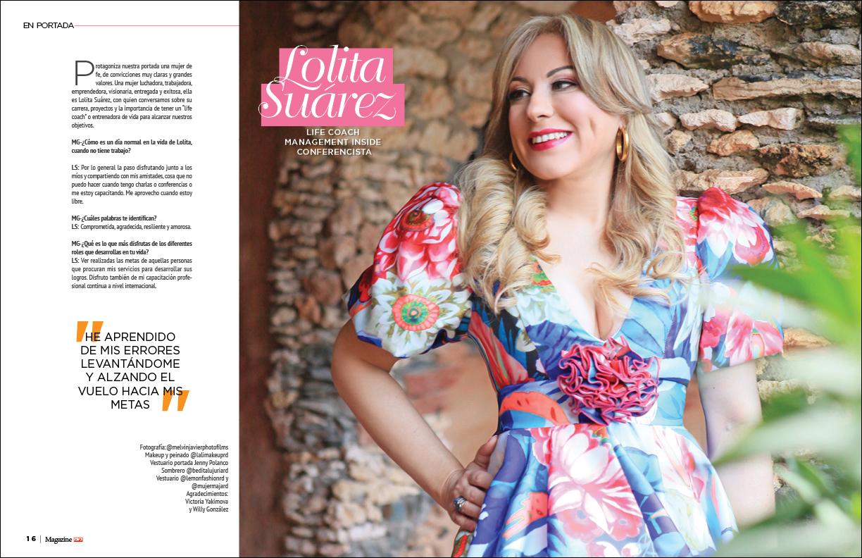 Entrevista central Lolita Suárez Magazine El Nuevo Diario Marzo 2020