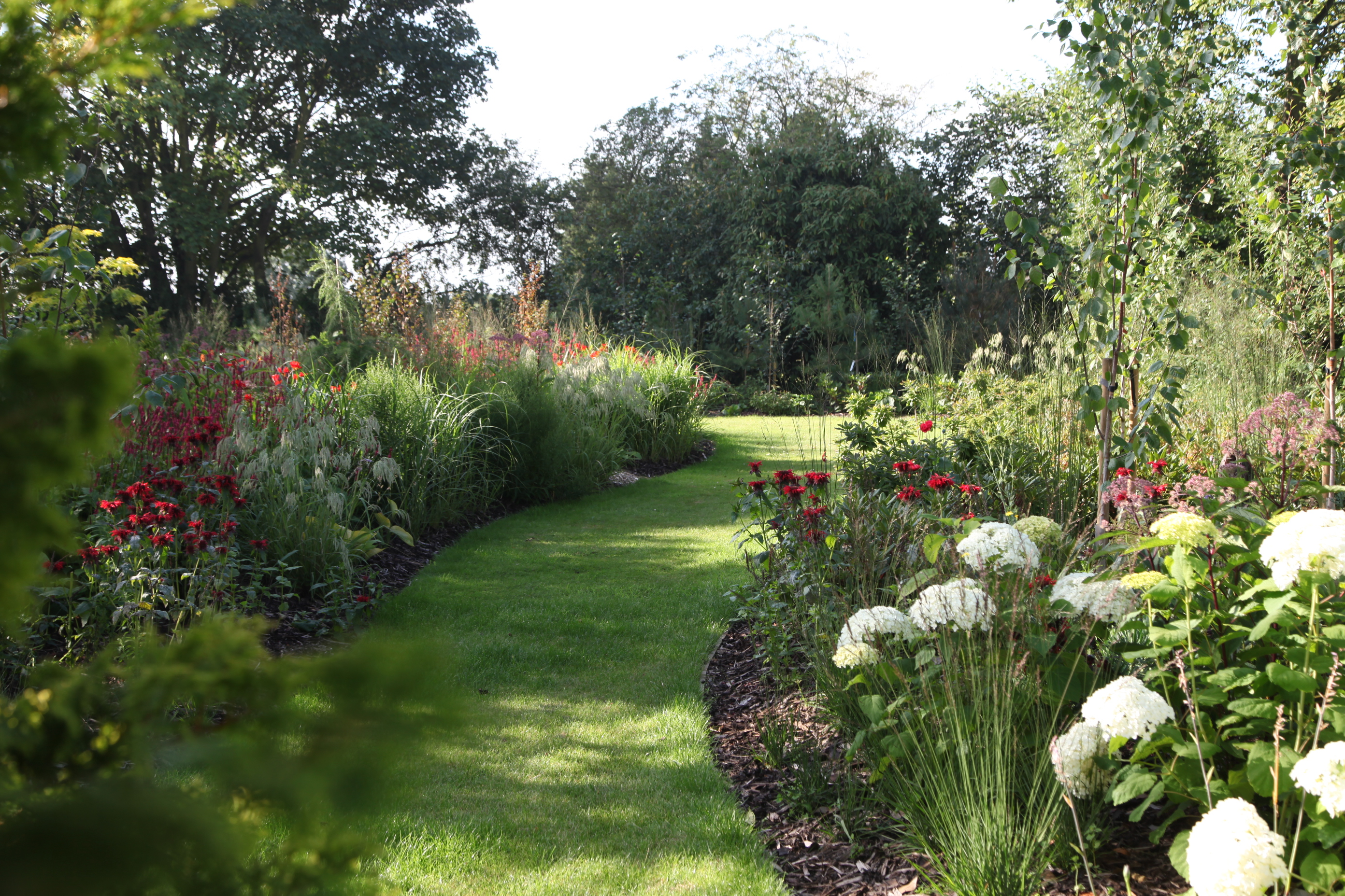 Big and Bold Country Garden