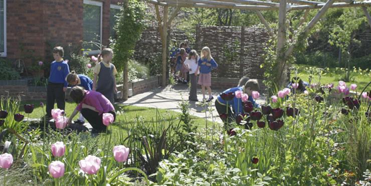 St Joseph's Primary School Garden