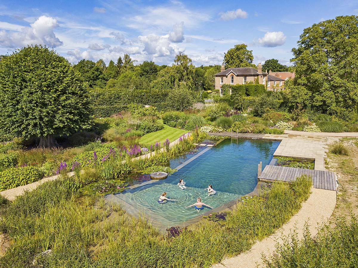Lincolshire natural pool