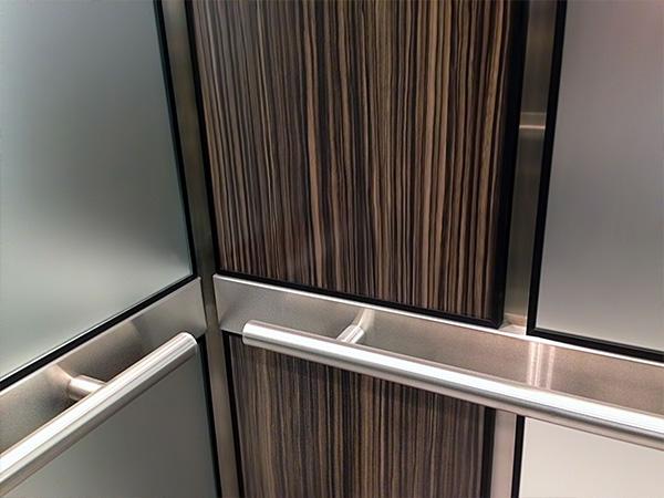 Brouss Elevators Cabin Renovation Components Elevator Handrail