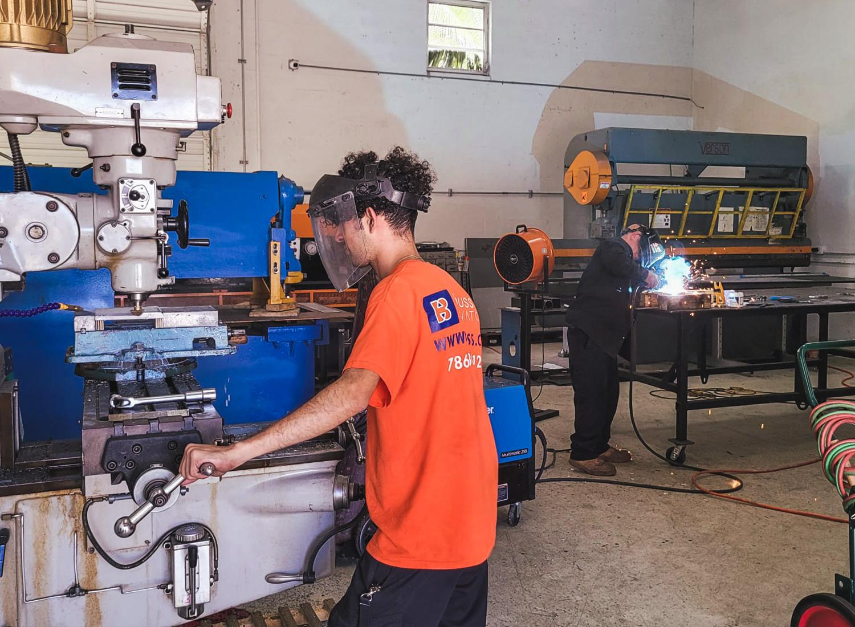 Brouss Elevators Part Manufacturing Workshop
