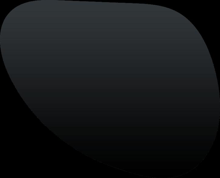 black blob