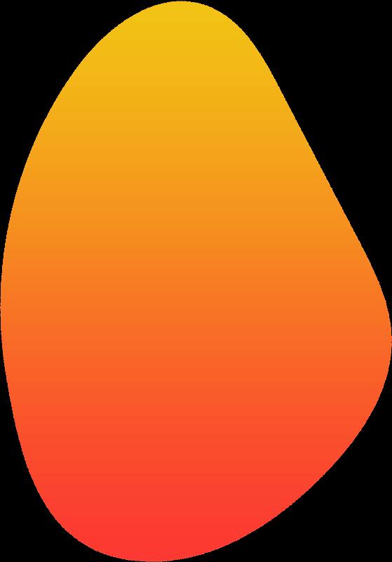 orange blob