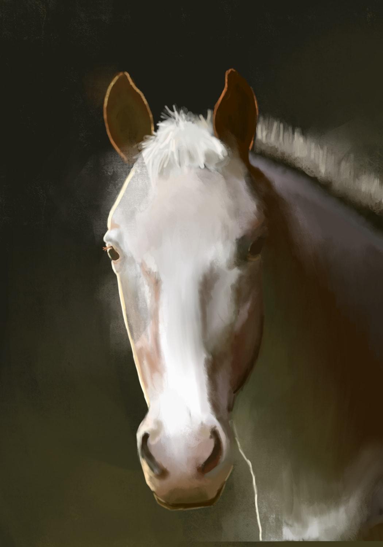 academic portrait painting