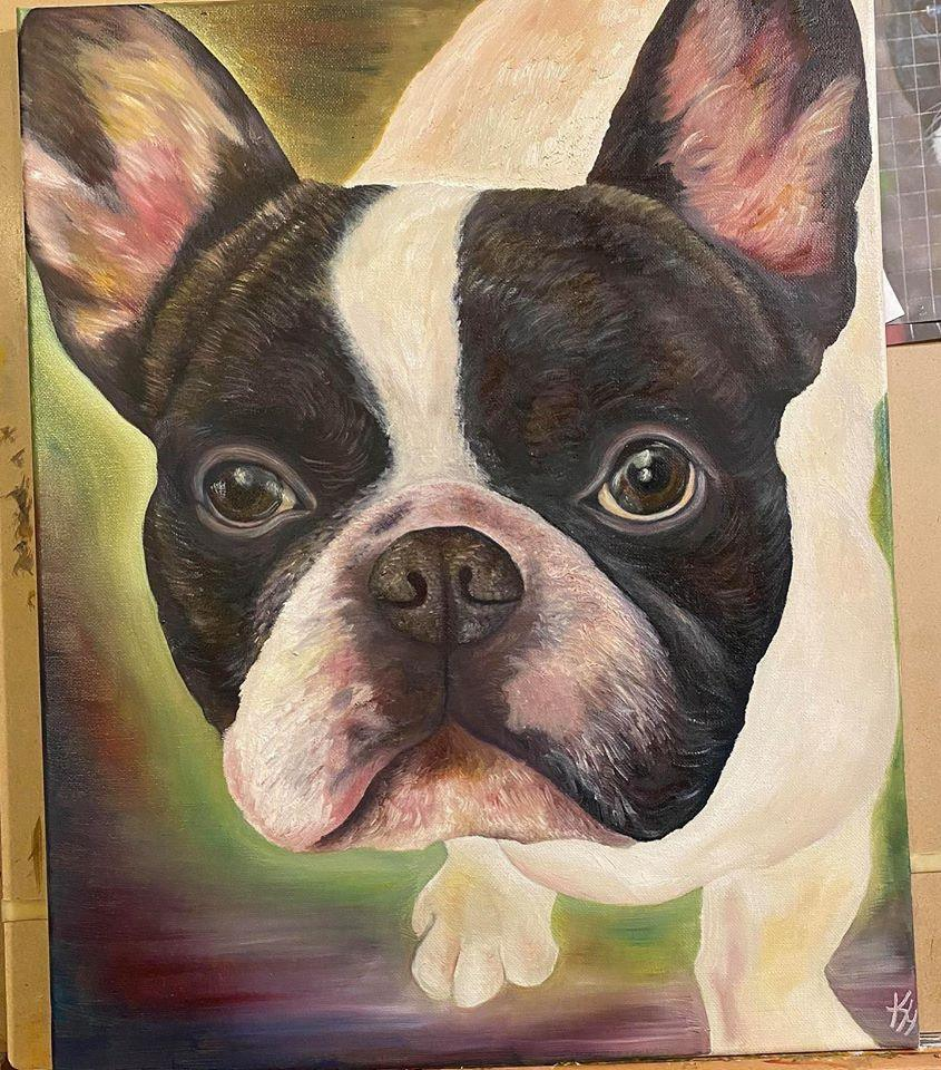 pet photo into painting