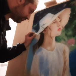 Artist Giannis Varsamoudis